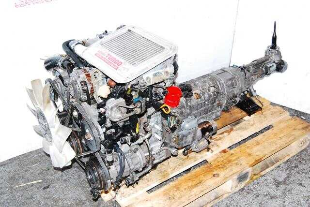 JDM RX-7 13B FC Engine For Parts Mazda RX7