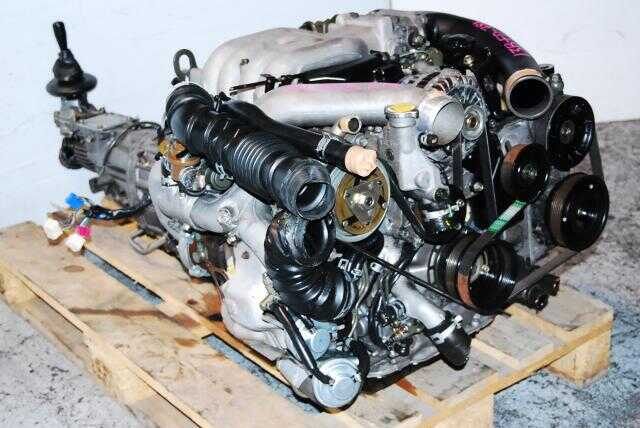 JDM 13B FD RX-7 Twin Turbo Engine & 5 Speed transmission
