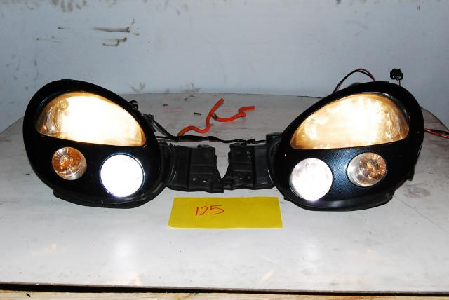 JDM Version 7 HID Bugeye Headlights with Ballasts