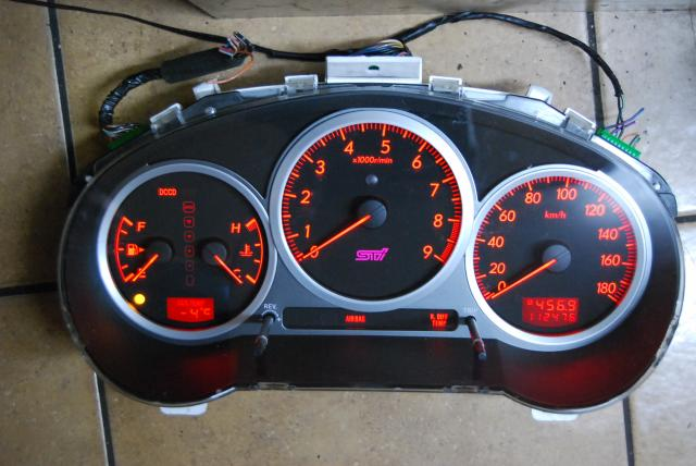JDM Version 8 Digital Cluster Subaru WRX Impreza STI