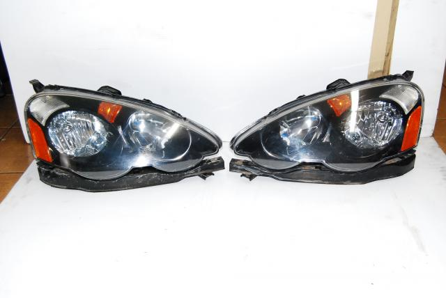 JDM DC5 Acura RSX HeadLights HID with Ballasts