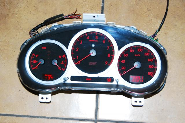 JDM Version 8 Cluster Gauge with opening Ceremony