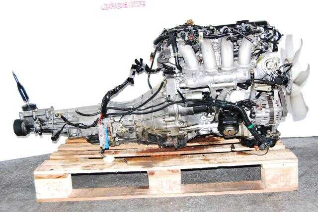 JDM SR20DET S13 Blacktop engine 5 speed transmission complete wiring
