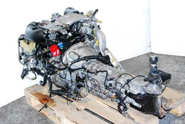 JDM 13B FD RX-7 Twin Turbo Engine & 5 Speed GearBox