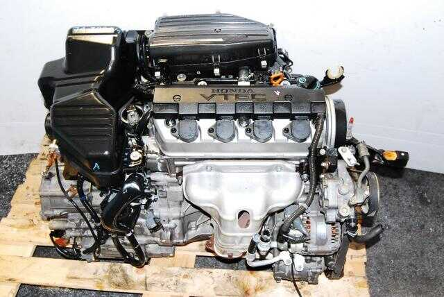 Honda Civic D17A Engine and Automatic Transmission