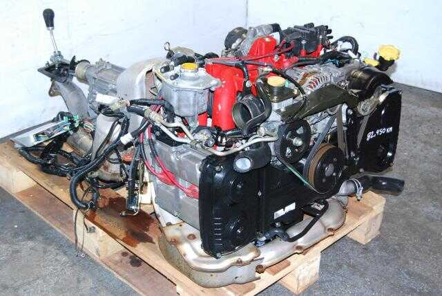 JDM Subaru Ver 5/6 Engine EJ207DW1PR 5 speed TY754VBAAA Transmission GC8F4ED IHI VF28 Turbo