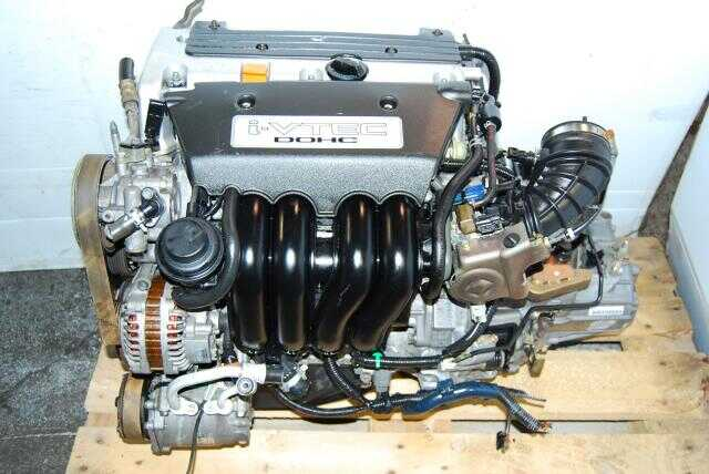 JDM K20A RSX Engine with W2M5 5 Speed Transmission