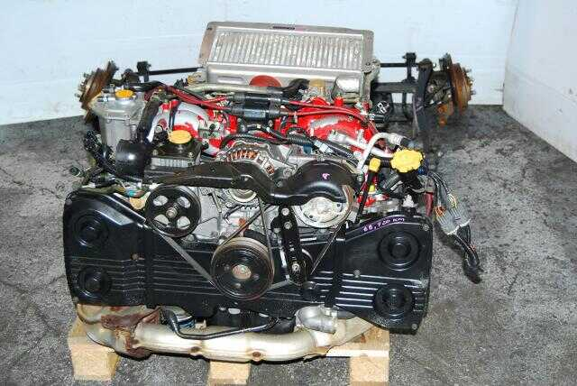 JDM EJ20K Version 4 STI Type R Engine TY752VB5CA DCCD Transmission