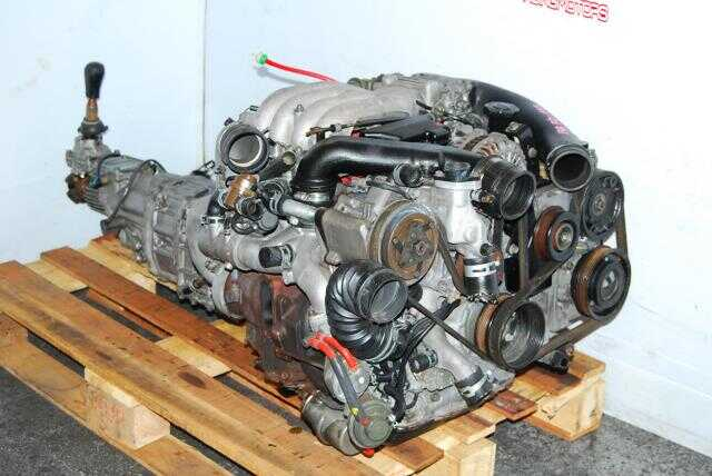 JDM 13B TT RX7 FD Engine & 5 Speed Transmission