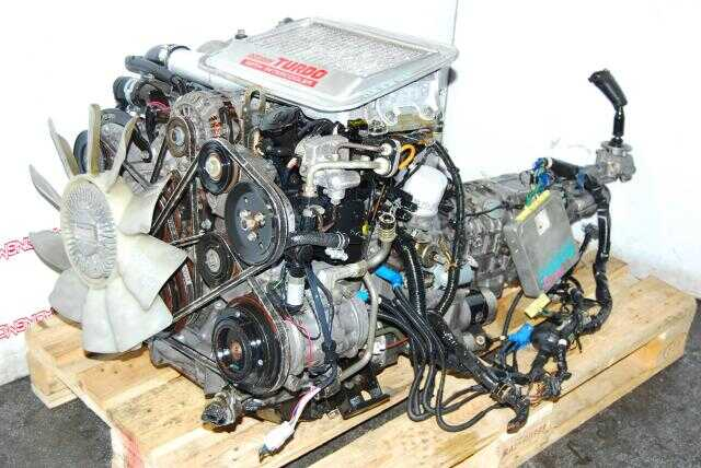 JDM 13B FC S5 ENGINE WITH MANUAL TRANSMISSION & ECU