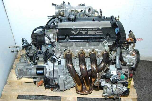 JDM H22A OBD1 Engine, M2B4 LSD Transmission, Tanabe LIMIT AX Headers & Down-Pipe