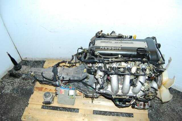 JDM SR20DET S13 Blacktop Package with 5 Speed transmission and ECU