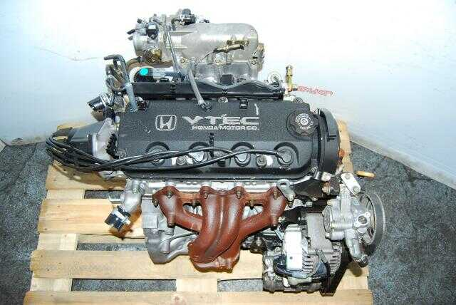 Honda Accord VTEC Engine, F23A 2.3L Motor, F23A5 4 Cylinder Long Block