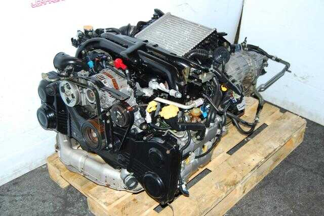 JDM Subaru Legacy BL5 EJ20X Engine, Twin Scroll VF38 titanium turbine
