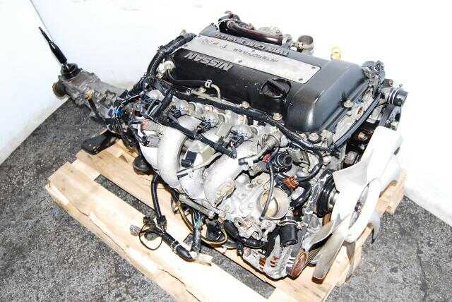JDM SR20DET S13 Blacktop Engine, J4 ECU, Wiring MT Transmission