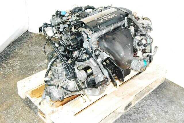 JDM H22A OBD1 Engine, M2B4 LSD Transmission, Axles, Down-Pipe
