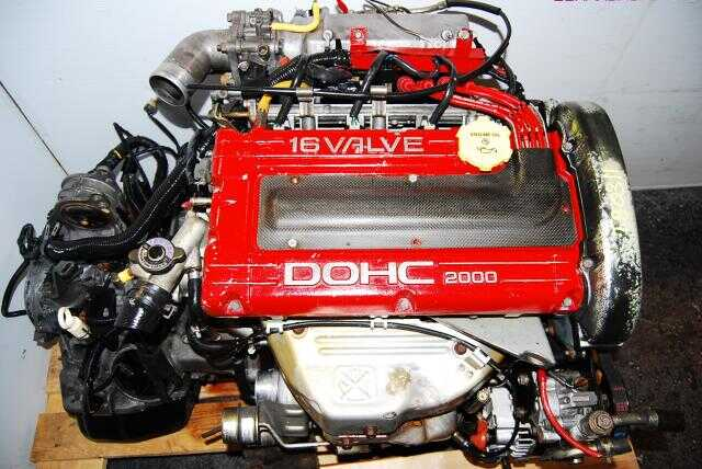 4G63 Turbo DOHC 16 Valve Engine, Transmission not included