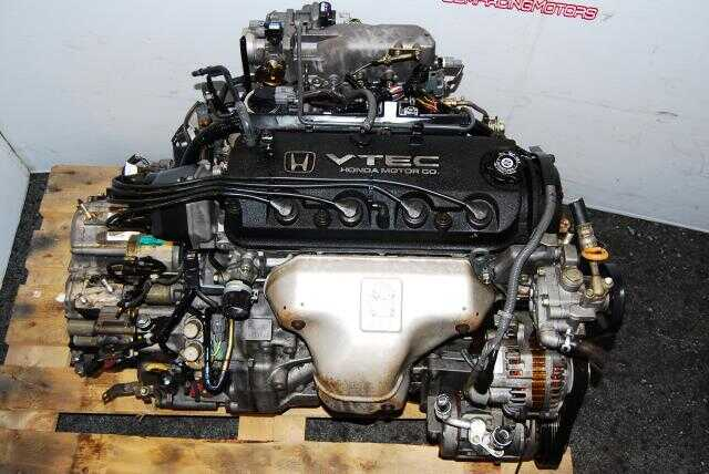 HONDA ACCORD 98-02, 2.3L VTEC ENGINE F23A AUTOMATIC TRANSMISSION