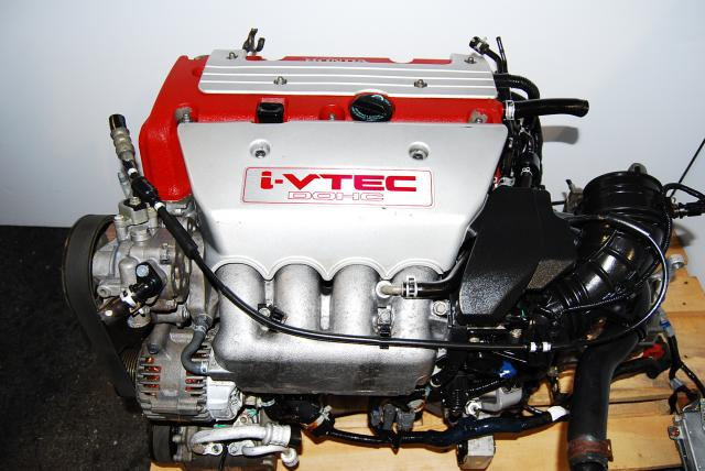 Honda/Acura K20A Red Engine 2002-2006 - Y2M3 LSD Trans & ECU Included