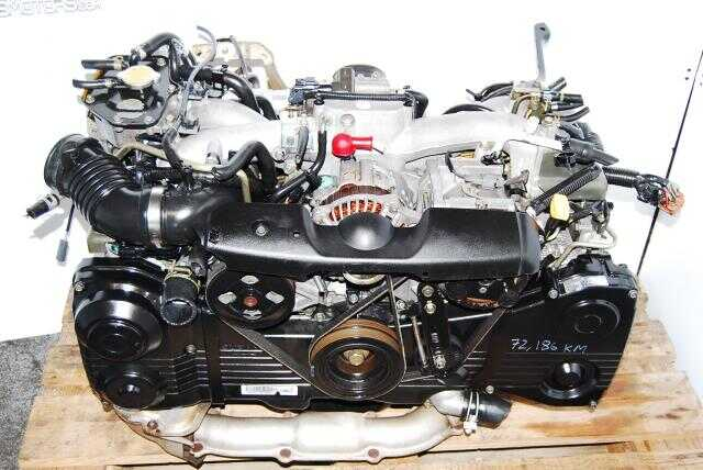 JDM EJ205 OBD2 Turbo Engine, EJ205DX3B5 WRX Motor AVCS model