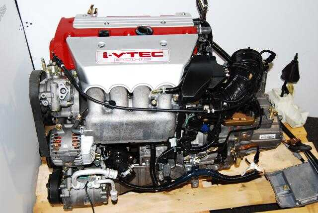 JDM Honda/Acura K20A DC5 Red Engine 2002-2006 - LSD Transmission