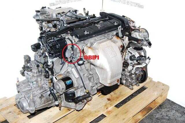 Honda Prelude F22B DOHC OBD1 Engine 1992-1996 Manual Transmission
