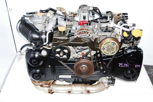 Subaru EJ205 OBD2 DOHC Quad Cam Turbo Engine 2002-2005