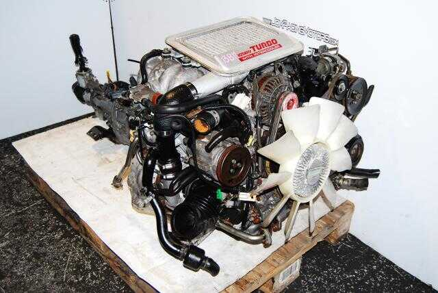 JDM MAZDA 13B FC S5 Engine and 5 speed transmission