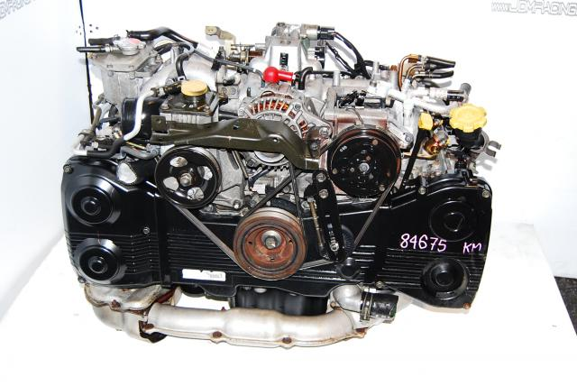 SUBARU IMPREZA WRX USED ENGINE LONG BLOCK EJ20T, EJ205 MOTOR