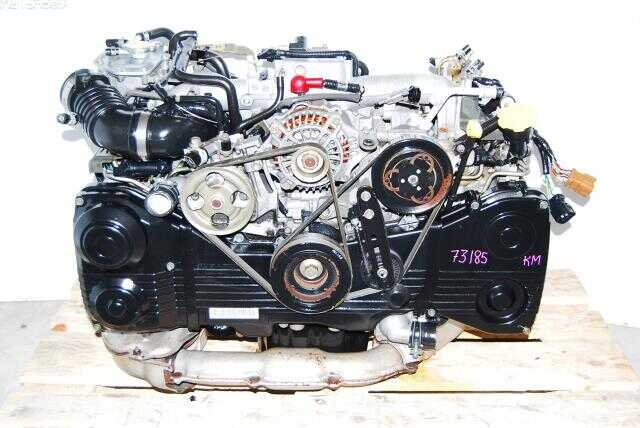 Subaru EJ205 AVCS DOHC Engine OBD2 Quad Cam Turbo Model 2002-2005