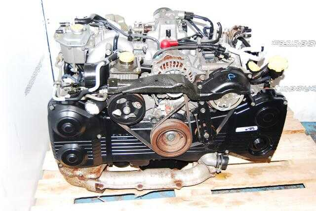 SUBARU IMPREZA WRX TURBO ENGINE, EJ205D, 2002-2005 2.0 DOHC Engine
