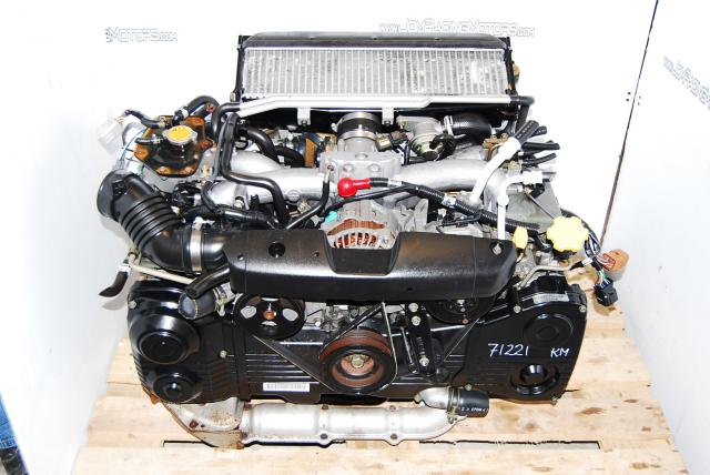 SUBARU WRX EJ205 TURBO ENGINE