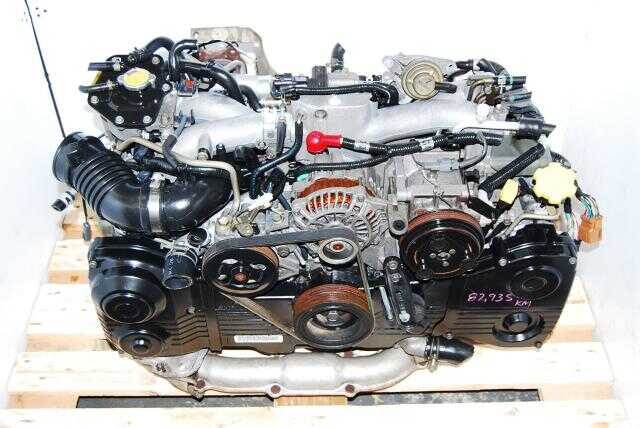 JDM WRX IMPREZA EJ205 TURBO AVCS ENGINE