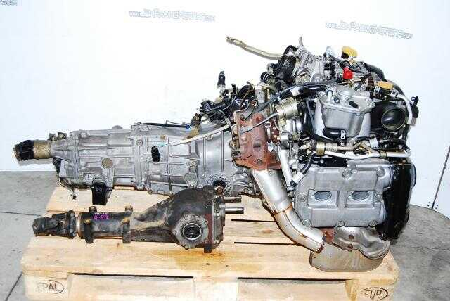 Subaru Impreza WRX 2002-2005 EJ205 Engine, 5 speed Transmission and matching 4.444 Diff