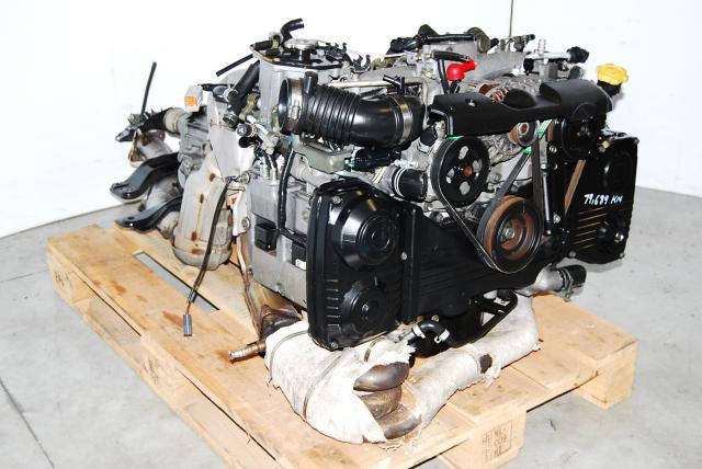 JDM Subaru Impreza WRX 2.0 Turbo Engine, EJ205, 5 Speed 4.444 Transmission