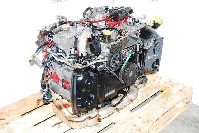 JDM EJ207 Version 6 STI GC8 Type RA Engine, 22611 AF041 ECU, Inter-cooler
