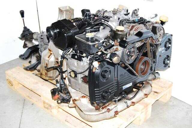JDM EJ20G EJ20K Engine GC8 Impreza WRX Motor, TY752VB3CA 5 speed transmission with rear 4.11 Diff