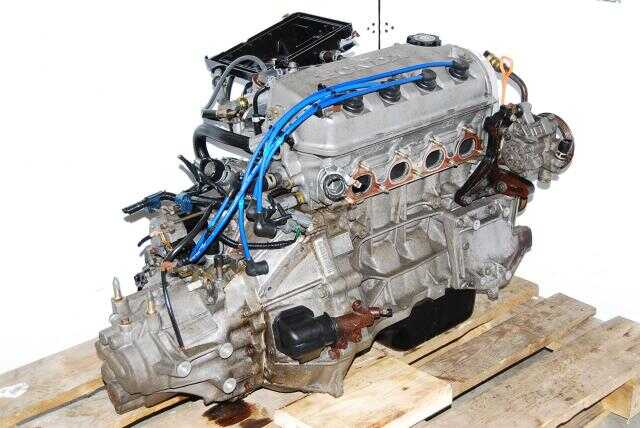 Used Honda D13B Engine, Manual S40 Transmission, replacement for D15B engine