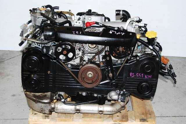 JDM Subaru WRX 2002-2005 EJ205 2.0L DOHC Engine & 5-Speed Transmission