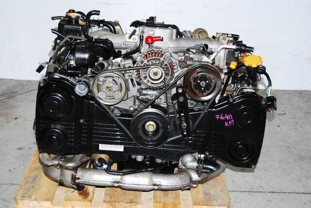 JDM Subaru WRX 2002-2005 EJ205 DOHC Quad Cam Engine & 5-Speed Transmission with Diff