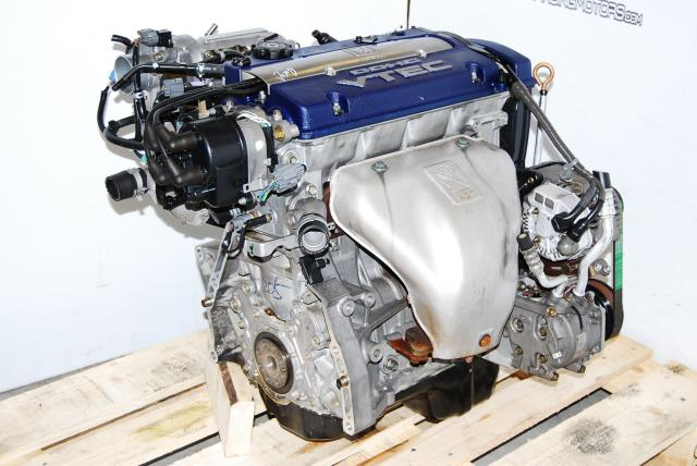 JDM Honda Accord 1999-2002 F20B DOHC VTEC Engine (Blue-Top Long Block Use)