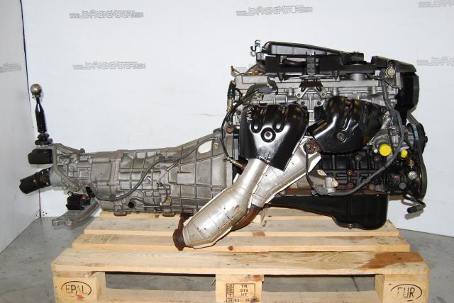 JDM 1G FE Engine and 6 Speed Transmission GXE10