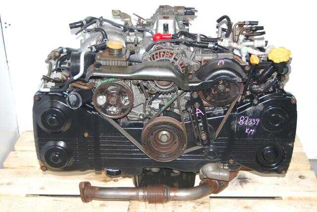 Subaru WRX 2002-2005 EJ205 Engine DOHC Turbo Quad-Cam Motor