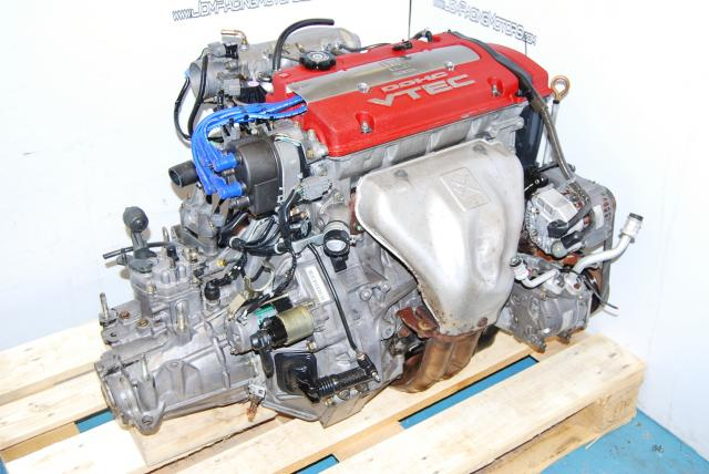 JDM H22A VTEC Type-S Engine T2W4 LSD transmission