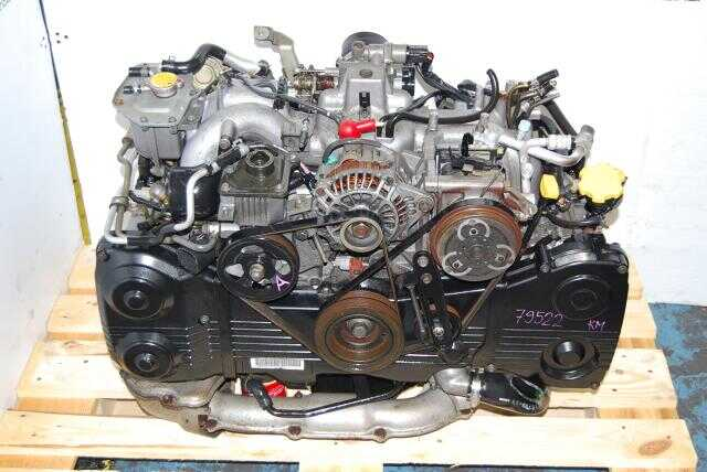 Subaru EJ205 Engine, WRX 2002-2005 Turbo Motor