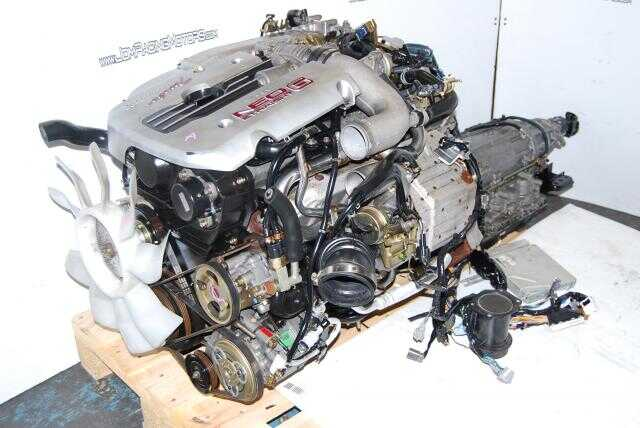 JDM R34 RB25DET NEO VVL Engine with Automatic Transmission
