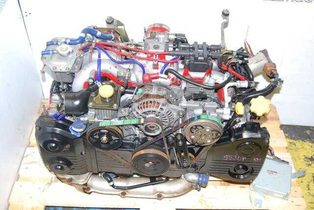 JDM Subaru EJ207 Ver 6 Engine, ECU, Turbo, VF28 Turbo