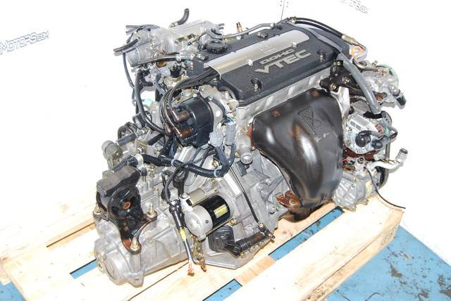 JDM H22A VTEC Engine, P13 OBD1 ECU, 5 Speed Transmission,