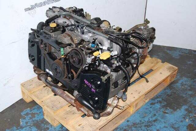 Subaru Legacy Twin-Turbo EJ208 B4 Engine & TY752VBCAA Manual Transmission