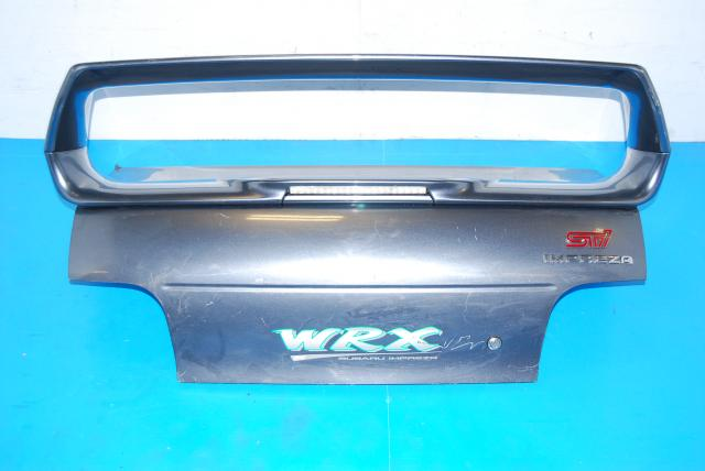 JDM Subaru Impreza GC8 Ver 6 Rear Trunk with Wing